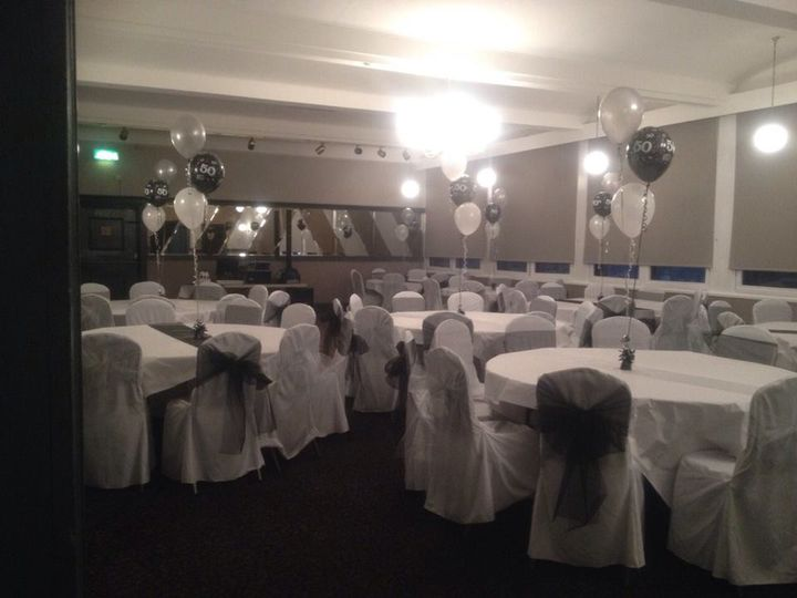 Venue dressing - Wee Tait