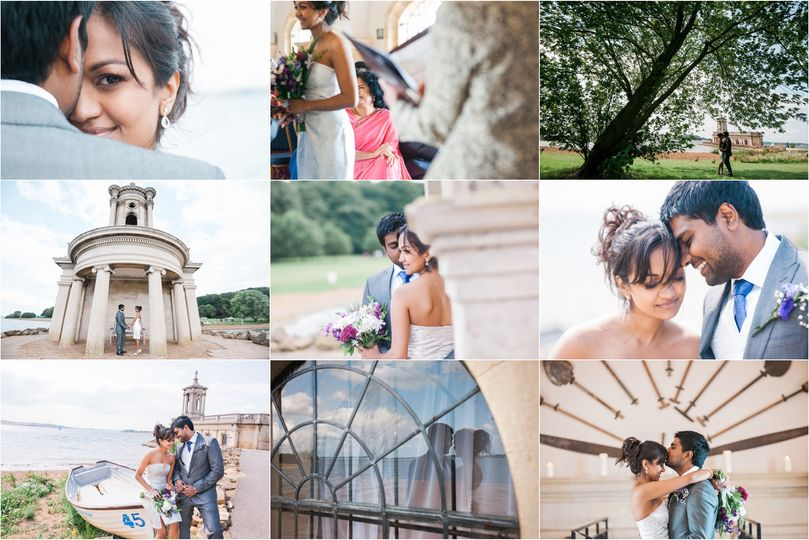 Normanton Church wedding photo