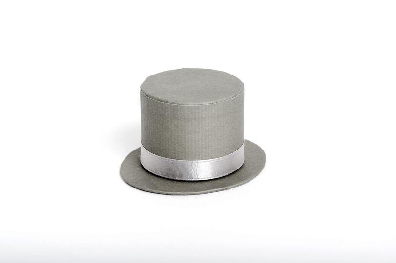 Mens Grey Top Hat Box £2.50