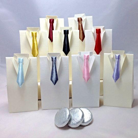 Satin Tie Tuxedo Box £2.50