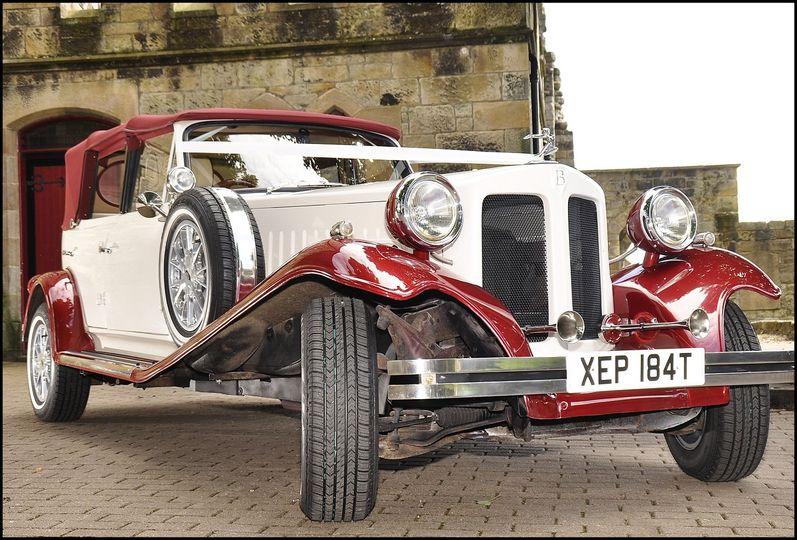Beauford  wedding car
