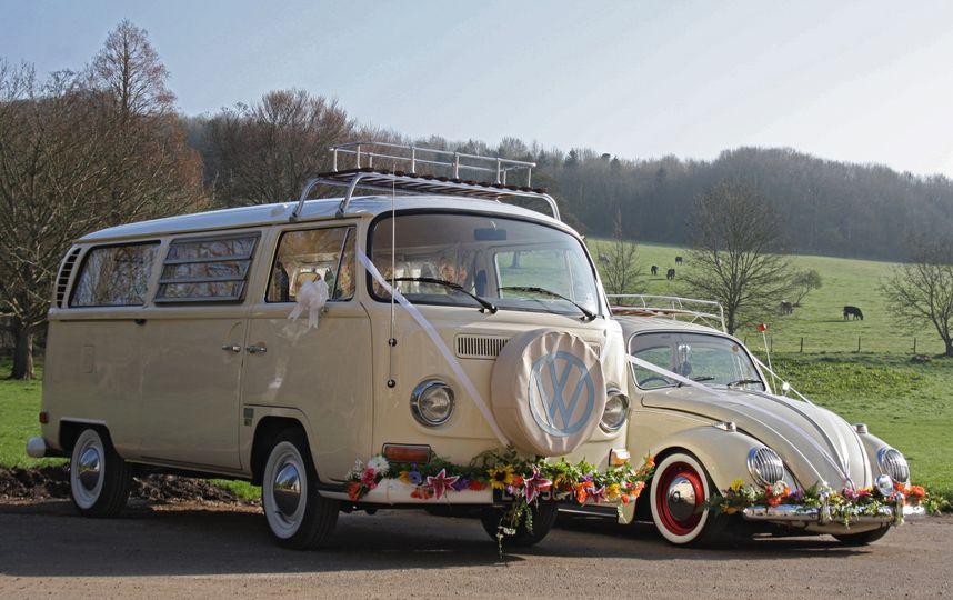 Bus and Bug Vintage Weddings