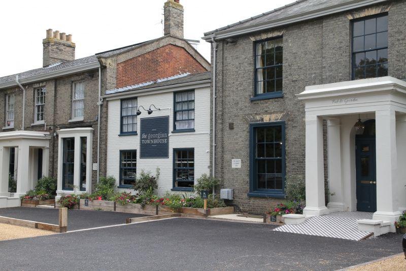 The Georgian Townhouse Outside