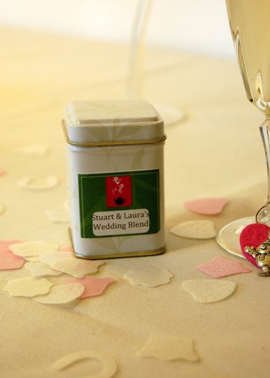 Wedding favour example