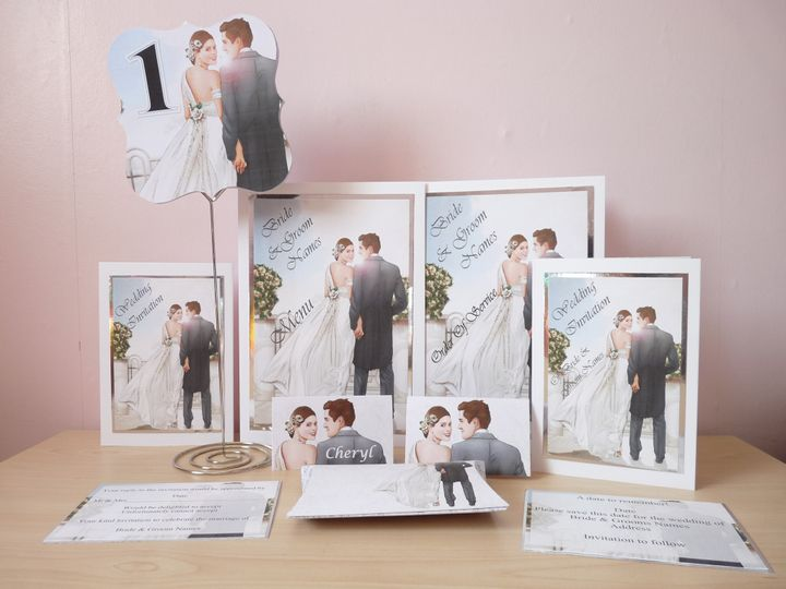 Couple Stationery set