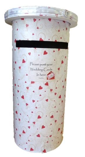 Red Heart Post Box Hire