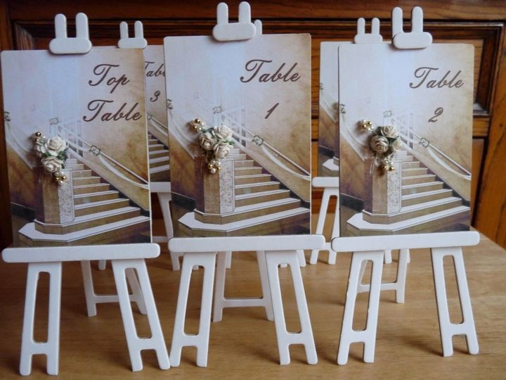Stairs Table Numbers