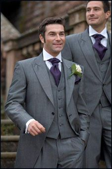 Grey Wedding Suit