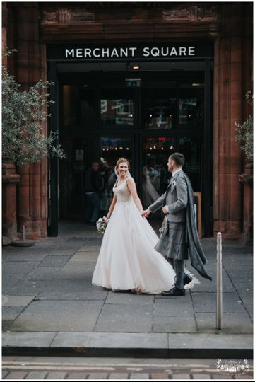 Glasgow wedding