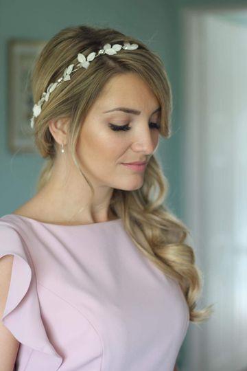 Lyra bridal hair vine