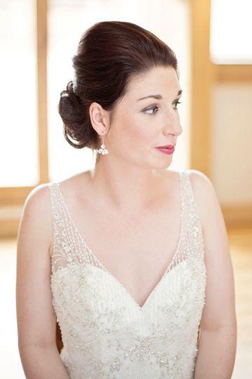 Danielle bridal earrings