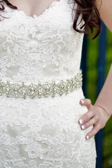 Libby bridal belt