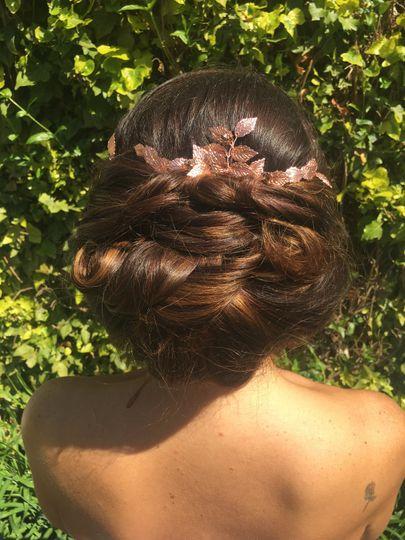 Betty bridal hair pins