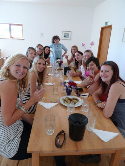 Highdown Vineyard Hen Party: Wine Tasting