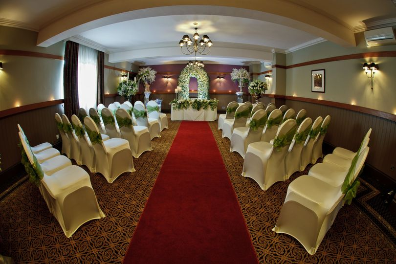 A ceremony room