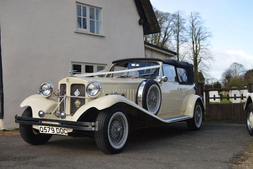 Wedding car Bedford