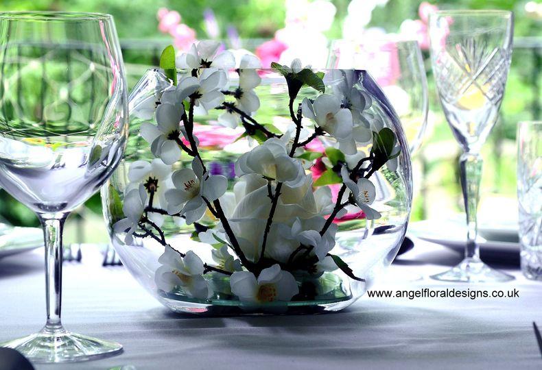 Rose and Blossom Bowl
