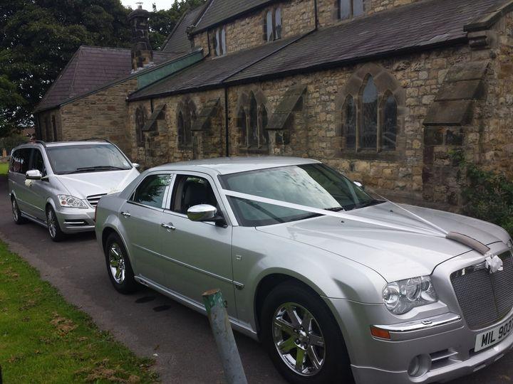 Silver Chrysler and Executive
