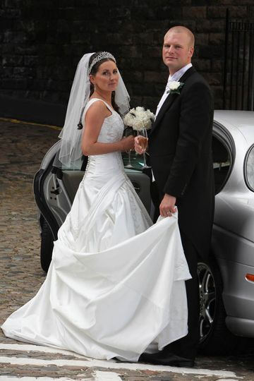 Wedding with rickerby cars