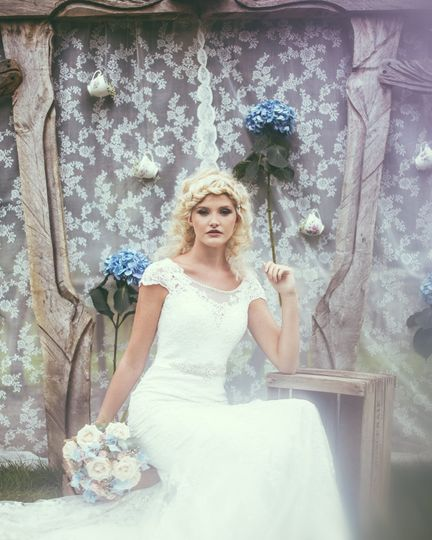 Bridal shoot for Gemma Sutton