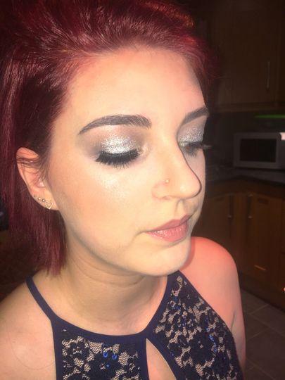 Glittery Wedding Guest