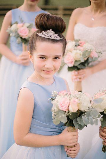 Child Bridesmaid Makeup
