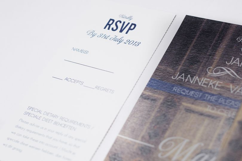 Bespoke invitation