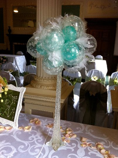 Wedding Reception Decorations From The Ultimate Balloon Company Uk