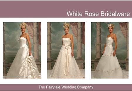 White Rose Wedding Dresses