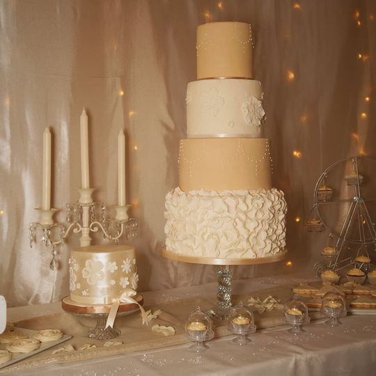 Glitz and Glam Dessert Table