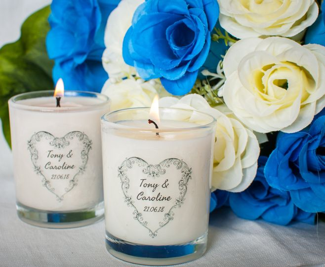 Wedding Favours Blue Roses