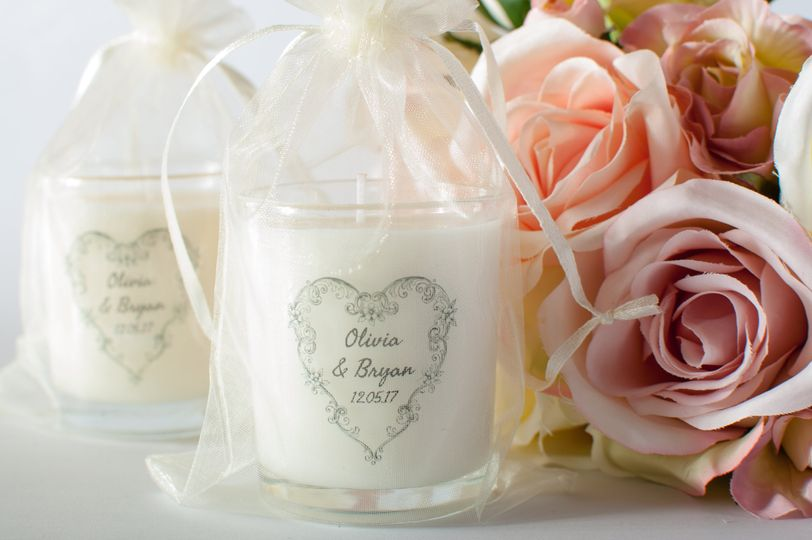 Personalised Wedding Favour