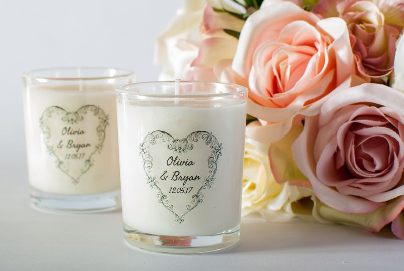 Wedding Favour Candles