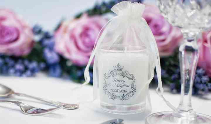 Wedding Favour Candles Royal