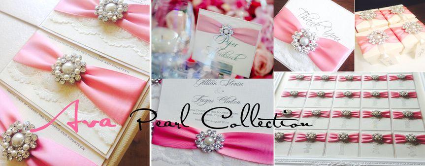 Lace wedding stationery
