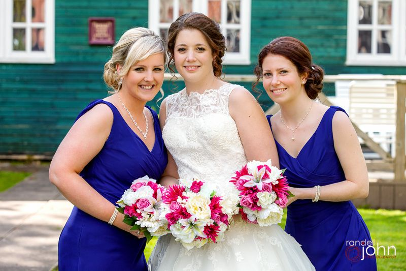 Nicola and her bridesmaids