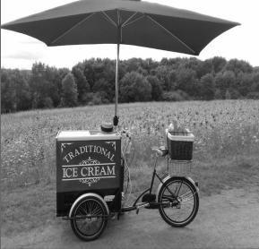 Wedding Ice Cream Trike