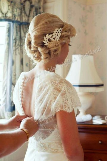 Laura, beautiful bride