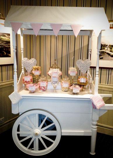 Wedding sweet cart