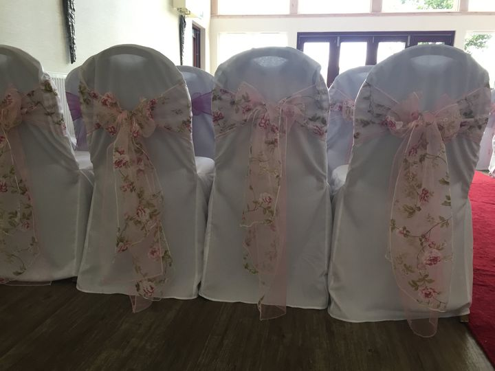 Floral sashes