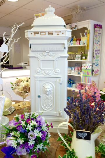 Secure wedding post box hire