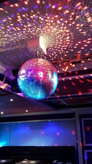 The dance area in the venue