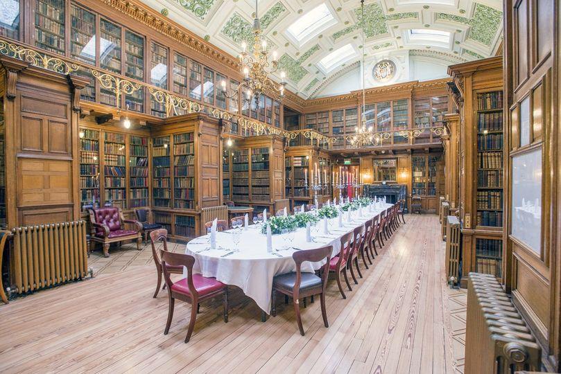 New Library -Wedding Breakfast