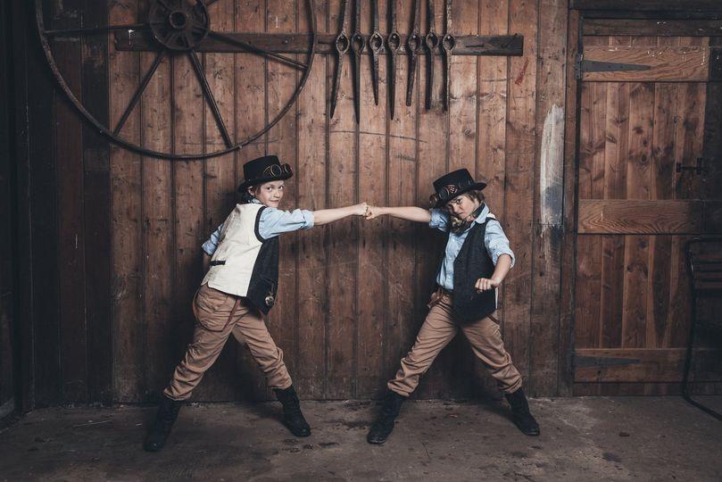 Ivory Fayre Steampunk Boys
