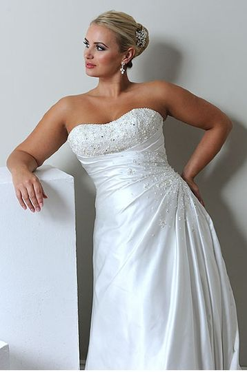 Daisy Love Plus Size Bridal
