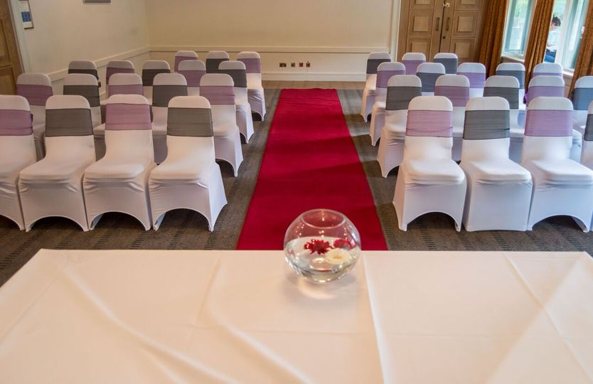 Civil ceremony room