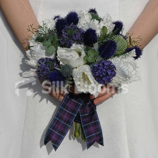 Scottish Thistle Bouquet