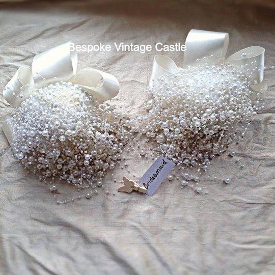 Pearl blast bouquet