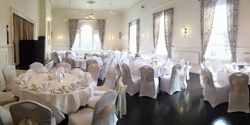 Wedding set up for 70 people