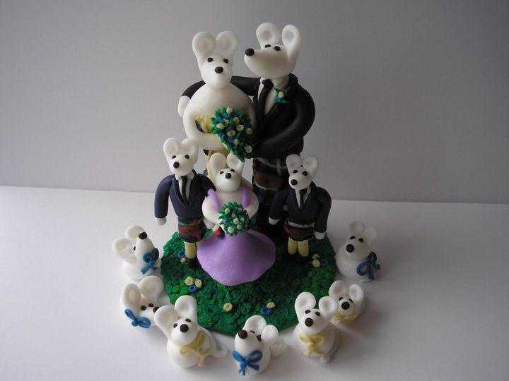 Scottish wedding mice